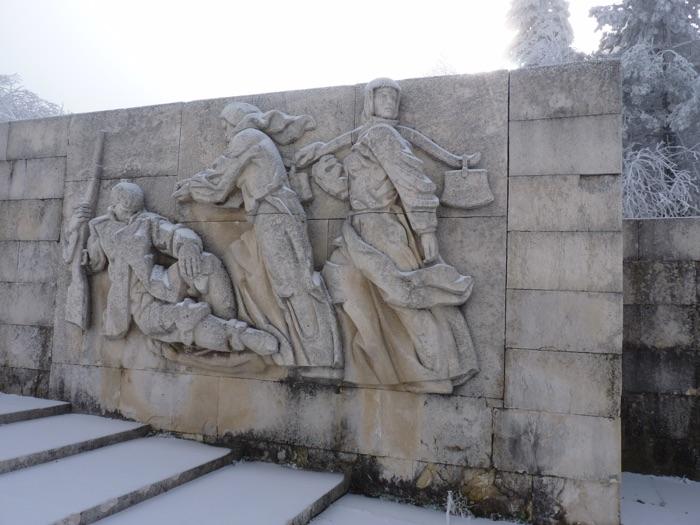 Shipka war monument Bulgaria