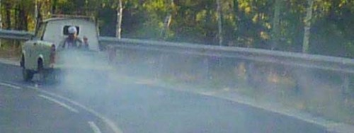 the smokey 2 stroke Trabant
