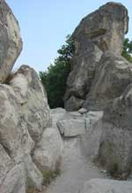 The ancient face of the Perperikon King